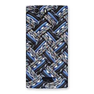 Enticing Pattern Knot Back Case Cover for Canvas Nitro 2 E311