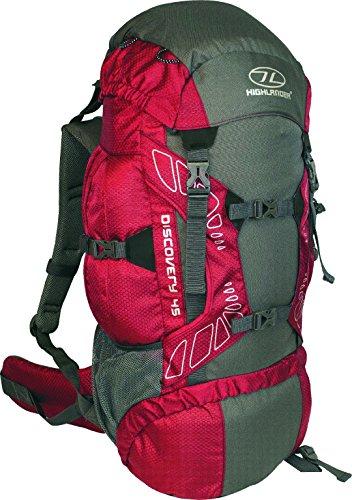 highlander-discovery-mochila-de-senderismo-color-rojo-gris-45-l