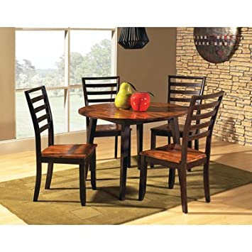 Steve Silver Abaco 5 Piece Double Drop Leaf Dining Room Set