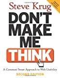 Cover of Don't Make Me Think! by Steve Krug 0321344758