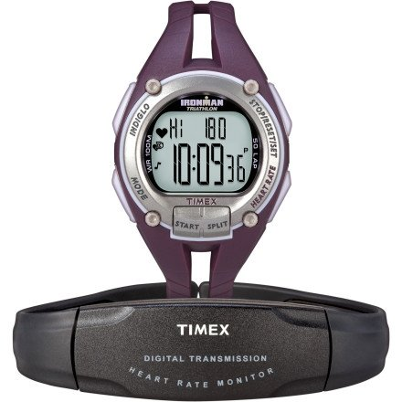 Cheap Timex Ironman Road Trainer Watch and Heart Rate Monitor (T 5K213 F5)