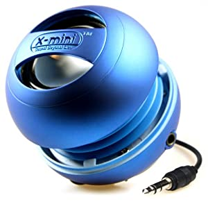 X-Mi X Mini II 2nd Generation Capsule iPhone / iPad 2 3 / iPod / MP3 / Laptop Speaker - Blue