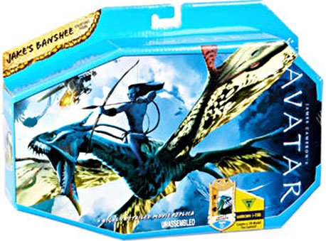 Buy Low Price Mattel James Cameron's Avatar Movie Creature Toy Figure Jake's Banshee (B002Q5XWAC)