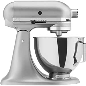 Kitchenaid Ksm75sl Classic Stand Mixer Silver Amazon Ca