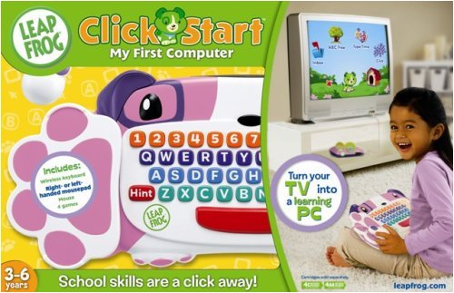 my first computer Shop for leapfrog clickstart my first online at target free shipping on purchases over $35 and save 5% every day with your target redcard.