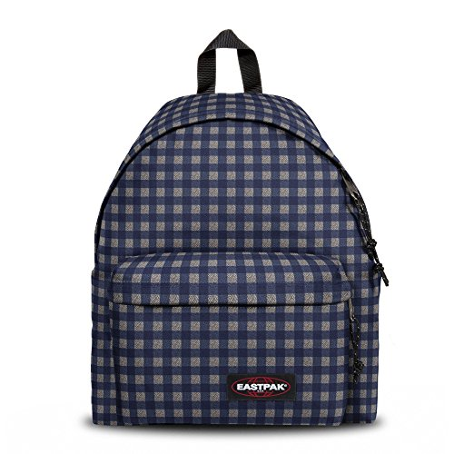 Eastpak padded pak r sac dos 24 l bleu carreaux avis for Eastpak carreaux