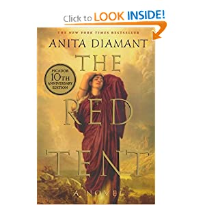 the red tent, biblical story, novel based on bible, anita diamant, must read books, adult book club recommendations