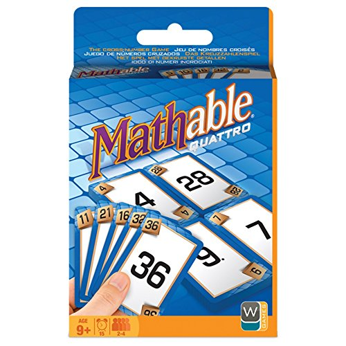 Wooky Mathable Quatro Card Game