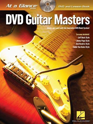 Guitar Masters At A Glance Bk/Dvd (At a Glance (Hal Leonard))