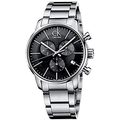Calvin Klein K2G27143 City Grey Silver Chronograph Watch