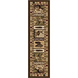 Oxford Sienna High Country Rug Rug Size: Runner 2\'3\