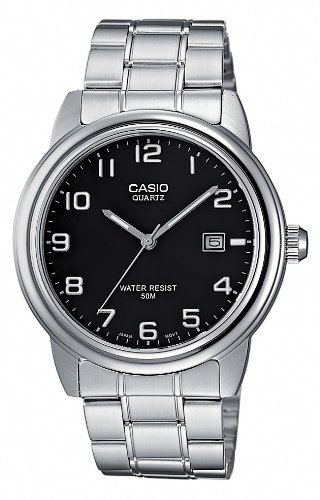 Casio Men's Analogue Watch MTP-1221A-1AVEF with Stainless Steel Bracelet