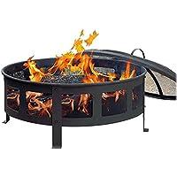 CobraCo Round Bravo Fire Pit (Black)