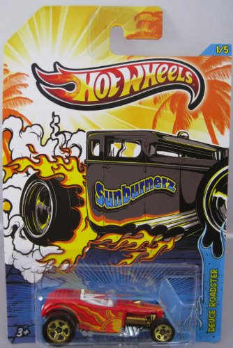 2013 Mattel Hot Wheels Sunburnerz Deuce Roadster 1:64 Die-Cast