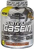 MuscleTech Platinum 100% Casein, Slow-Digesting 100% Milcellar Casein Formula, Gourment Milk Chocolate, 3.75 lbs (1.70kg)
