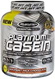 MuscleTech Platinum Pure 100% Casein Supplement, Gourmet Milk Chocolate, 3.75 Pound