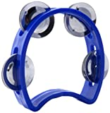 D'Luca Blue 4-Inch Child's Tambourine