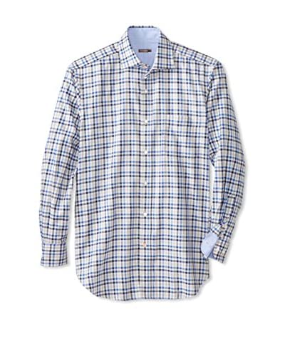 J. McLaughlin Men's Beekman Multi Check Shirt