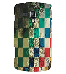 PrintDhaba Pattern D-5455 Back Case Cover for SAMSUNG GALAXY S DUOS S7562 (Multi-Coloured)