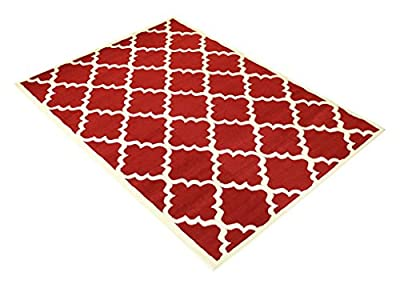 Modela Collection Trellis Modern Area Rug Rugs
