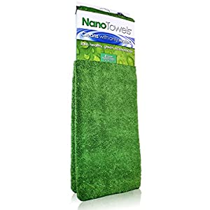 Super Nano Towels ® the #1 Best Selling Eco Friendly Chemical Free Cleaner. Supersized Version of the Breakthrough Fabric That Replaces Expensive Paper Towels and Toxic Chemical Cleaners In Your Home. It Can Help You Save Hundreds of Dollars Per Year Whi