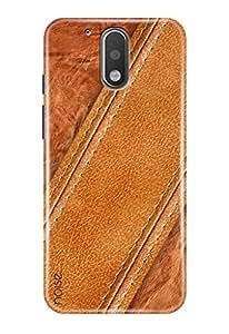 Noise Designer Printed Case / Cover for Motorola Moto G Plus, 4th Gen / Patterns & Ethnic / Diagonal Tan Design