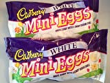 Cadbury White Mini Eggs Easter Limited Edition, 9 oz bag - Pack of 2