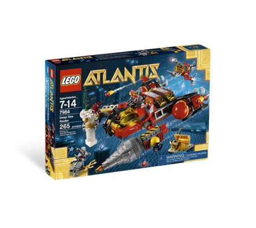 LEGO Atlantis Deep Sea Raider 7984 Y Amazon.com