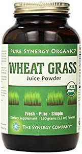 Wheat Grass Juice Powder - Pure Synergy Organics by The Synergy Company