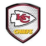 Kansas City Chiefs NFL Reflector Decal Auto Shield for Car Truck Mailbox Locker Sticker Football Licensed Team... at Amazon.com