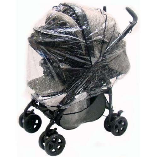 Raincover For Graco VIVO Travel System & Stroller Mode, HEAVY DUTY Design