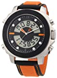 Boss Orange Men's Bold Orange Rubber Strap 1512679