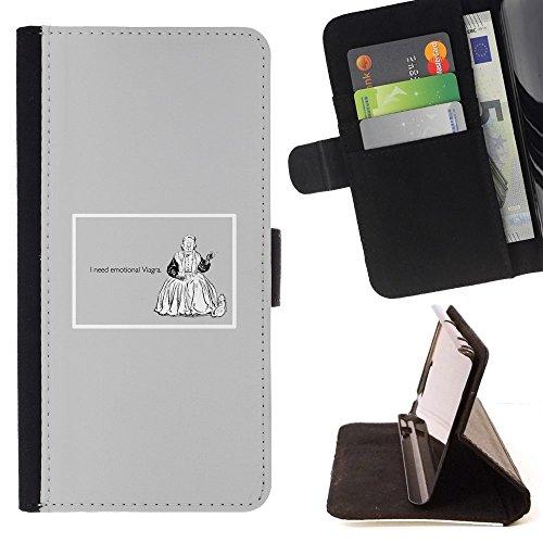 momo-phone-case-flip-funda-de-cuero-case-cover-emociones-viagra-cita-divertida-vida-motivacion-sony-