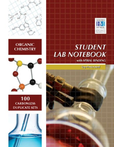 Organic Chemistry Student Lab Notebook: 100 Carbonless...