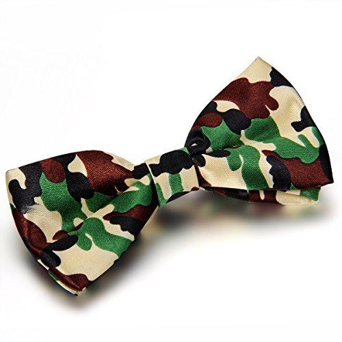 Jewelrywe Gioielli Bow Tie Camouflage