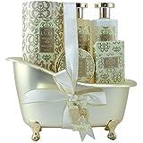 Gloss! Baignoire de Bain Luxe White Floral et Musk 5 Pièces