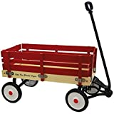 Grand Forward Little Box 34 In. Wooden Wagon