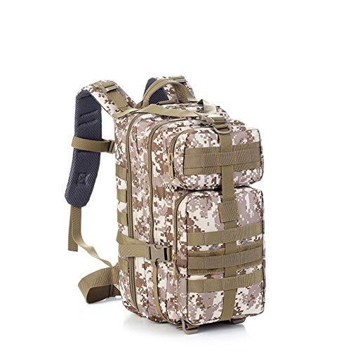 Outdoor sac à dos d'alpinisme / ventilateurs militaires sac / sac étanche de camouflage tactique-4 40L