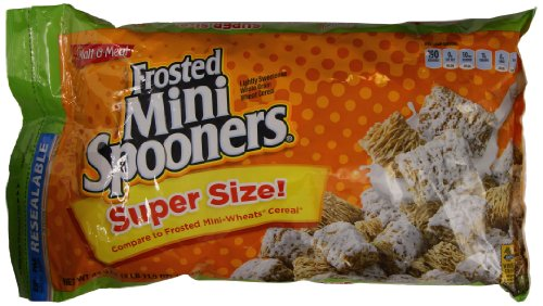 Malt-O-Meal Frosted Mini-Spooners, 43.5 Ounce (Pack Of 2)