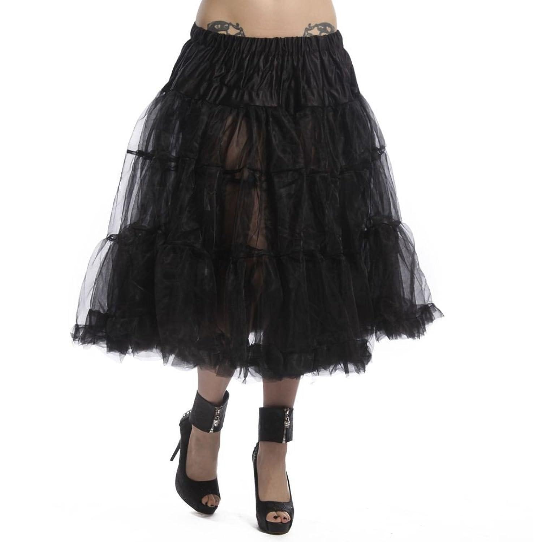 VixxSin Long Petticoat Rock Skirt Tüll Netz Gothic kaufen