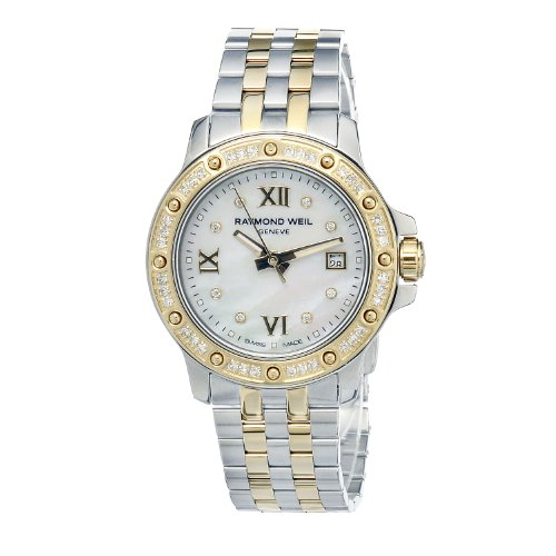 Raymond Weil Women's 5399-SPS-00995 Tango Date Two-Tone 44 Diamonds Watch