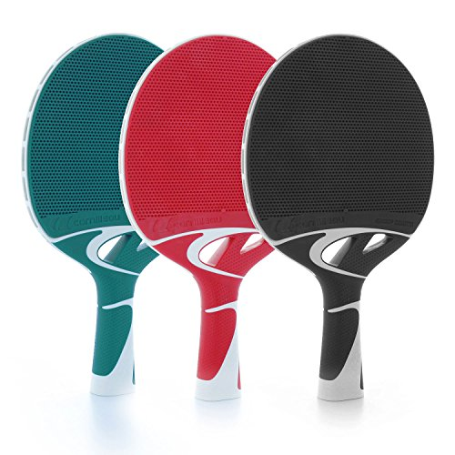 Cornilleau Tacteo 50 Racchette Ping Pong, Verde/Bianco