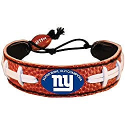 New York Giants Super Bowl XLVI Champions Classic NFL Football Bracelet