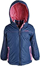 Rugged Bear Little Girls Water Resistant 3-in-1 System Snowboard Ski Jacket