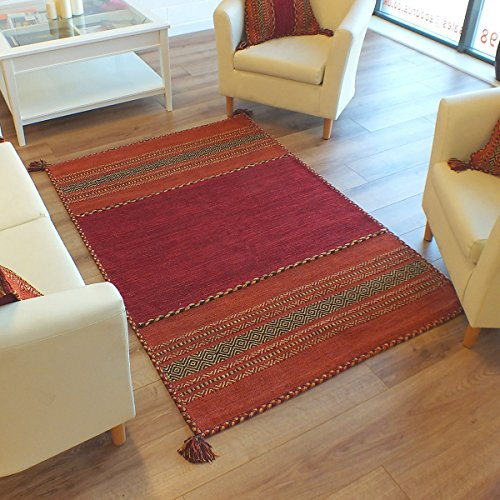 kelim-ethnic-rugs-red-handmade-flatweave-shabby-chic-70-x-140cm-2ft3-x-4ft6-approx