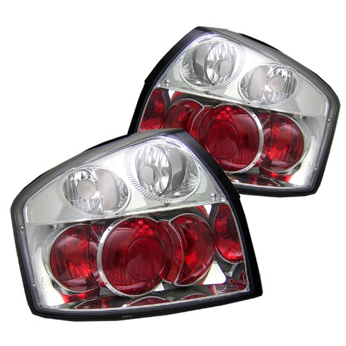 Spyder Audi A4 02-05 Altezza Tail Lights - Chrome