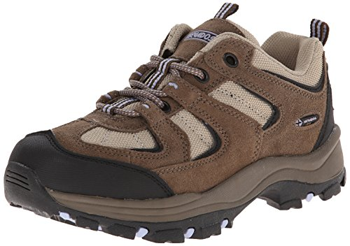 Nevados Women's Boomerang II Low Hiking Trail Shoe, Chocolate Chip/Stone/Lavender, 6 M US