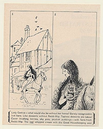 1966-lady-godiva-on-horse-illustration-reddi-wip-original-print-ad-50627
