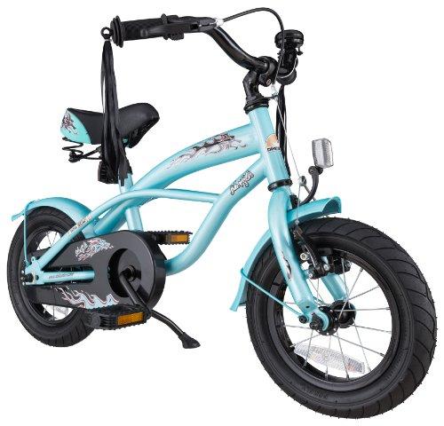 bike*star 30.5cm (12 Zoll) Kinder-Fahrrad Cruiser - Blau