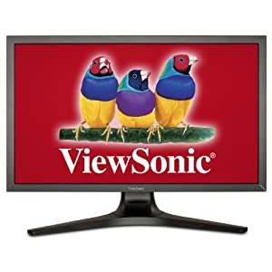 ViewSonic VP2770-LED 27-Inch SuperClear IPS LED-Lit Professional Monitor, WQHD 2560x1440, Pre-Calibrated, 1.07b Colors by ViewSonic